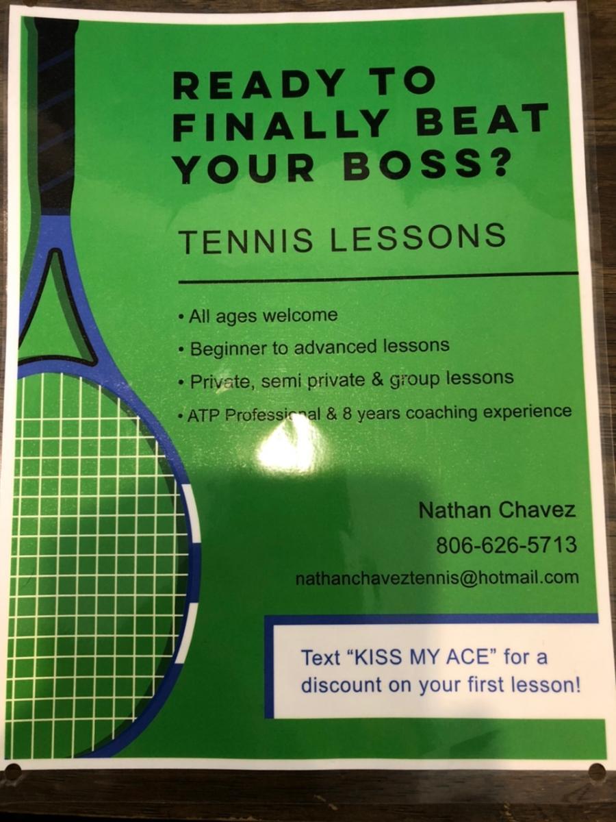 Nathan Chavez - Tennis